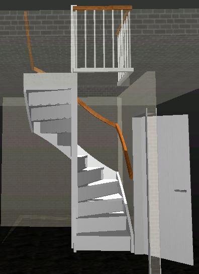 Trap op maat gemaakt voor uw situatie kunnen wij een trap for Zelf zoldertrap maken
