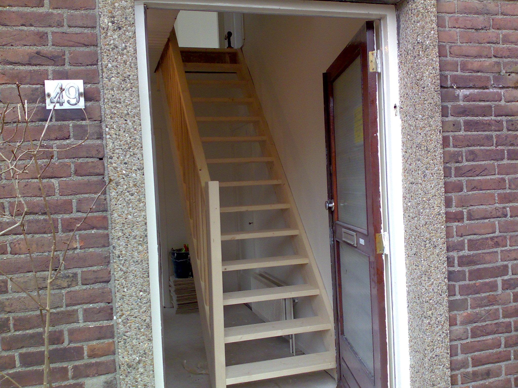 Trap foto 39 s allerlei voorbeeld trappen for Steektrap berekenen