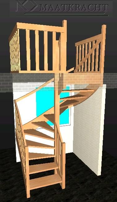 Trap foto 39 s allerlei voorbeeld trappen for Goedkope trappen op maat